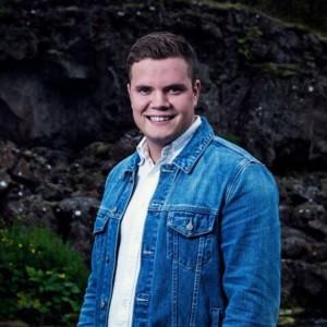 Andri Steinn Hilmarsson, varaformaður SUS